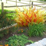 Belle Mead Hot Glass Robert Kuster Glass Garden Art