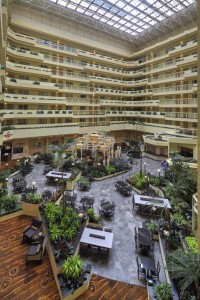 LAX Embassy Suites By Belle Mead Hot Glass