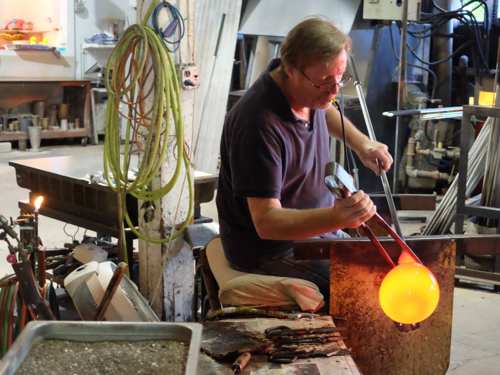 Bellemead Hot Glass, Robert Kuster,Hillsborough NJ 08844