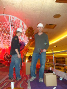 Bob and Al at work at Parx Casino 2011